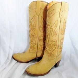 JENNIFER ESTES FRYE Leather BOOT Riding Cowboy